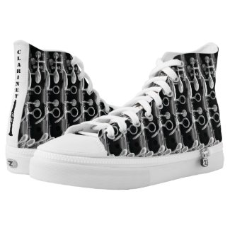 Clarinet High Top Shoes