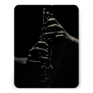 clarinet custom invites