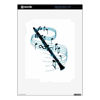 Clarinet iPad 2 Skin
