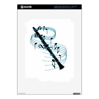 Clarinet iPad 3 Decal