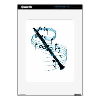 Clarinet iPad Skins