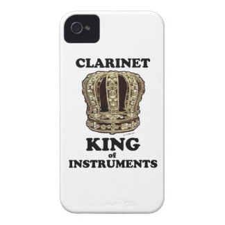 Clarinet King of Instruments iPhone 4 Case-Mate Case