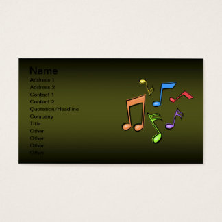 Clarinet Lessons Business Card