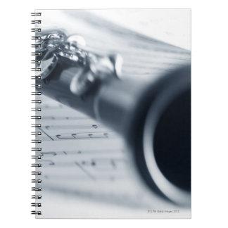 Clarinet Libros De Apuntes Con Espiral