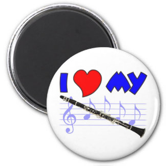 Clarinet Love Magnet