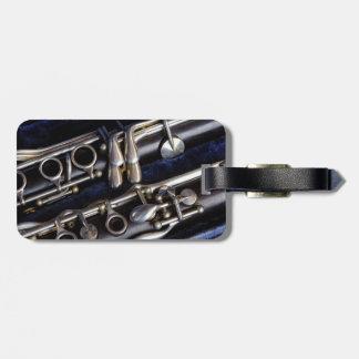 Clarinet Luggage Tag