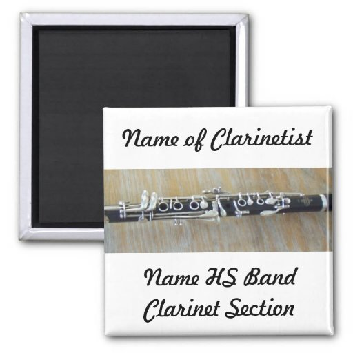 Clarinet Magnets