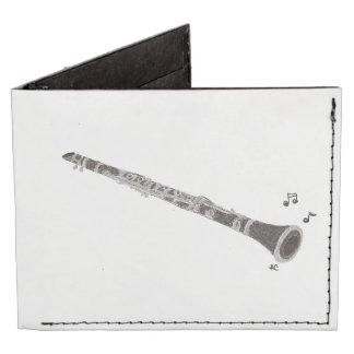 Clarinet men's wallet billfold wallet
