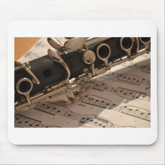Clarinet Music Melody Clarinets Musical Dance Mouse Pad
