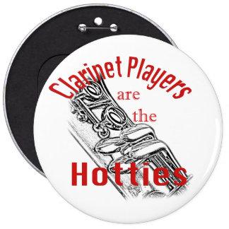 Clarinet Music Musician Band Button