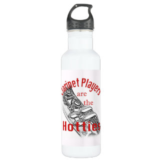 Clarinet Music Musician Band Coffee Mug Cup 24oz Water Bottle