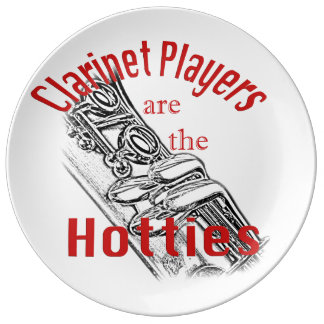 Clarinet Music Musician Band Kitchen Dining Dinner Plate
