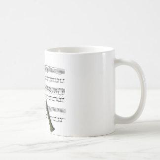 Clarinet musical 09 B Coffee Mug