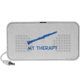 Clarinet my therapy iPod speakers