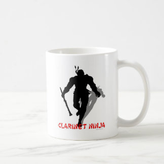 Clarinet Ninja Coffee Mug
