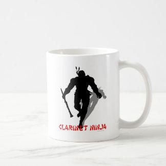 Clarinet Ninja Coffee Mug