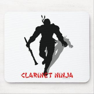 Clarinet Ninja Tapetes De Ratón