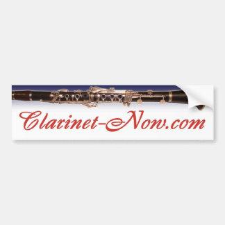 Clarinet-Now.com Bumper Sticker