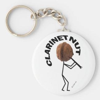 Clarinet Nut Key Chains