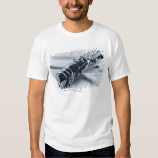Clarinet on Music Sheets T Shirt