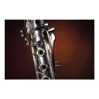 Clarinet photo print