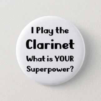 Clarinet Pinback Button