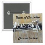 Clarinet Pins
