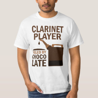 Clarinet Player (Funny) Chocolate Tee Shirts