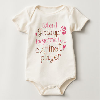 Clarinet Player (Future) Infant Baby T-Shirt