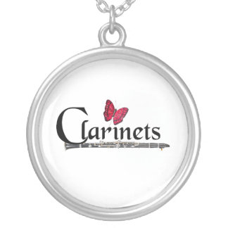 Clarinet Player Musician Jewelry Necklace ANYCOLOR