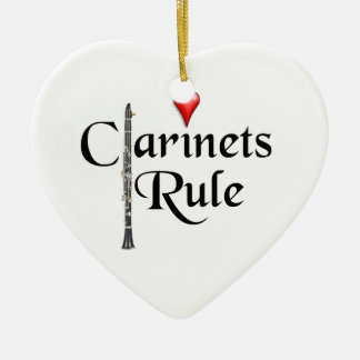 Clarinet player musician Ornament ANY COLOR