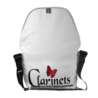 Clarinet Player Musician Tote Bag ANY COLOR