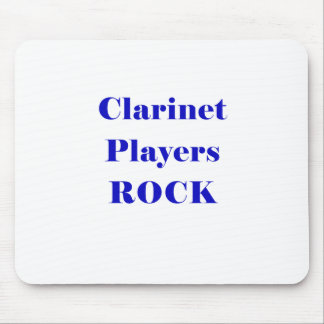 Clarinet Players Rock Mousepads