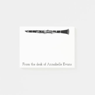 Clarinet Post-it Notes