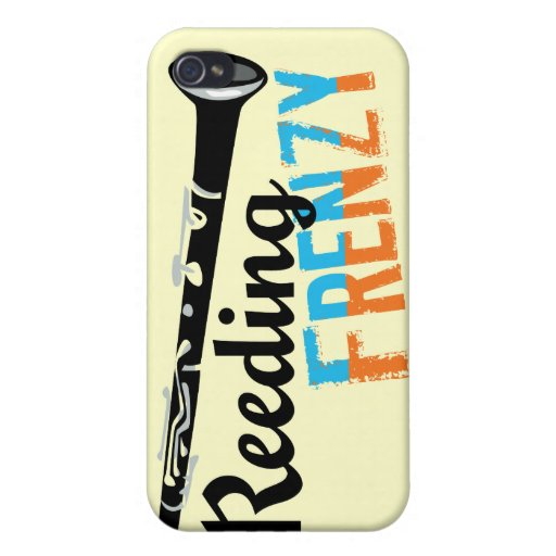 Clarinet Reeding Frenzy Covers For iPhone 4