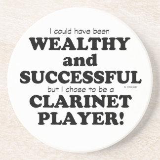 Clarinet rico y acertado posavasos para bebidas