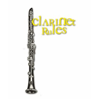 Clarinet Rules YellowText shirt