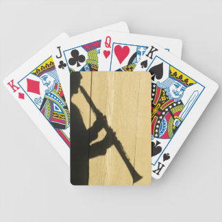 Clarinet Shadow playing cards