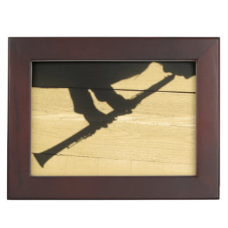 Clarinet Shadow trinket box