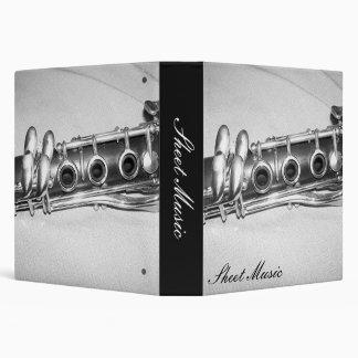 Clarinet Sheet Music Binder