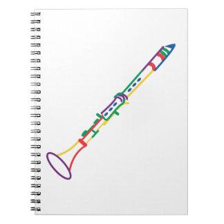 Clarinet Spiral Notebook