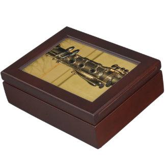 Clarinet Sunset keepsake box