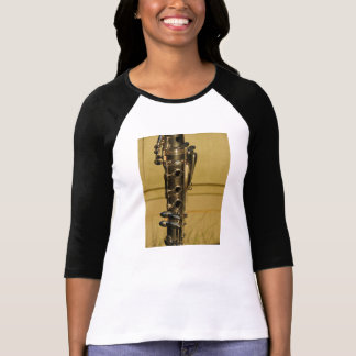 Clarinet Sunset ladies' raglan shirt