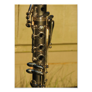 Clarinet Sunset photo print