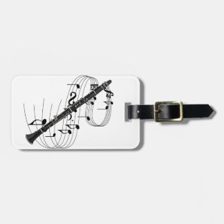 Clarinet Tag For Luggage