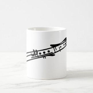 Clarinet Taza Básica Blanca