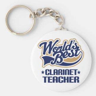 Clarinet Teacher Gift Keychain