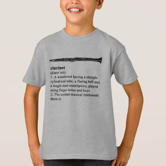 Clarinet - the coolest instrument there is T-Shirt