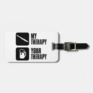 clarinet therapy designs luggage tag