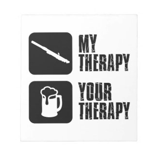 clarinet therapy designs notepad